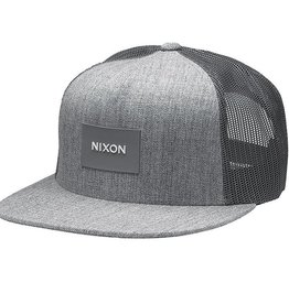 Nixon Nixon, Team Trucker Hat, heather gray