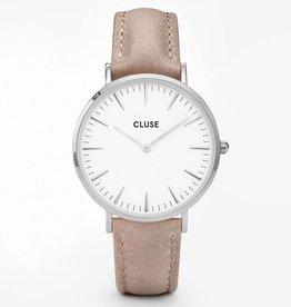 Cluse Cluse, La Bohème, silver white/hazelnut
