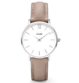 Cluse Cluse, Minuit, silver white/hazelnut