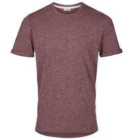 Minimum Minimum, Delta T-Shirt, wine melange, L