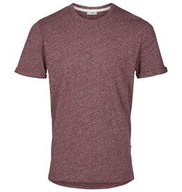 Minimum Minimum, Delta T-Shirt, wine melange, XL