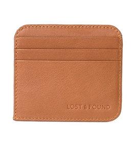 Lost & Found Accessories Lost & Found, Kreditkartenhalter mit Notenfach, caramel