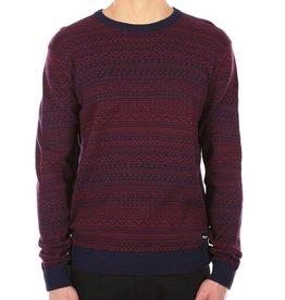 Iriedaily Irie Daily, Naranjo Knit, navy/red, XL