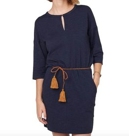 Sessun Sessun, Degraw Dress, navy, S