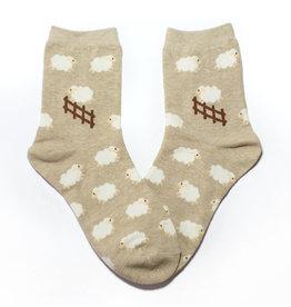 Cutie Socks Cutie Socks, Schafe zählen, beige, 36-40