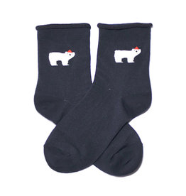 Cutie Socks Cutie Socks, Dezenter Eisbär, 36-40