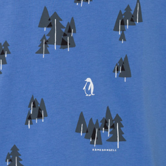 armedangels Armedangels, James Penguin, Forrest, dusk blue, S