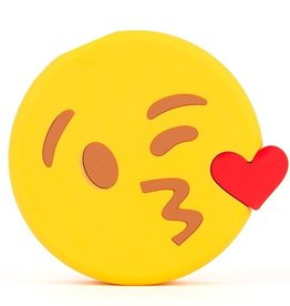 Mojipower, Emoji Powerbank, Kissing Wink