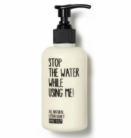 Stop the water while using me STOP THE WATER, Lemon Honey Balm, 200ml