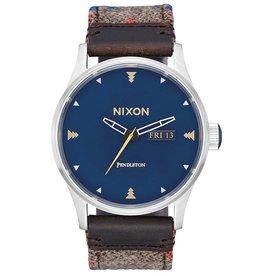 Nixon Nixon, Sentry Leather, washed americana
