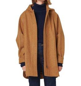 Sessun Sessun, Nana Hooded Coat, mapple, XS