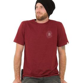 ZRCL ZRCL, Think T-Shirt, bordeaux, M