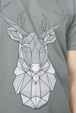armedangels Armedangels, James Geo Deer, graphite green, XL