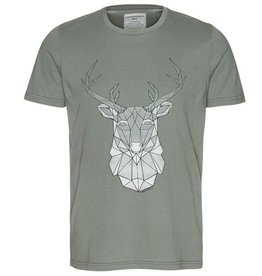 armedangels Armedangels, James Geo Deer, graphite green, L