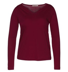 armedangels Armedangels, Sue, cranberry red, L