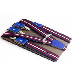 Vertical, les Français Bretelles, blue/white/red, L(130cm)