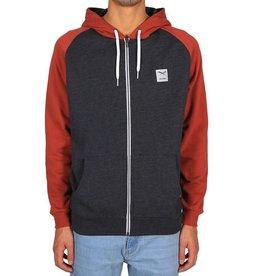 Iriedaily Iriedaily, De College Zip Hood, Brick, L