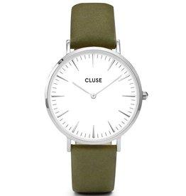 Cluse Cluse, La Bohème, silver white/olive