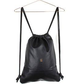 Kollegg Kollegg, Bag, Twotones, dotted leather, black