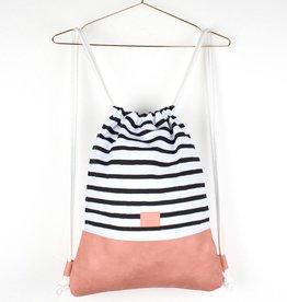 Kollegg Kollegg, Bag, Twotones, striped, rosa