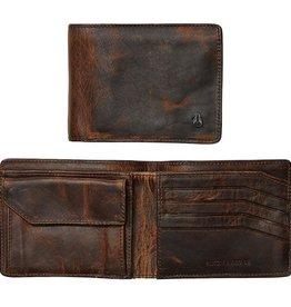 Nixon Nixon, Arc SE bi-Fold Wallet, black/brown