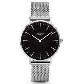 Cluse Cluse, La Bohème Mesh, silver/black