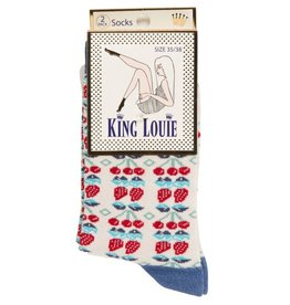 King Louie King Louie, 2-Pack Strawberry, cream, 39-42