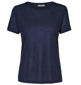 Minimum Minimum, Heidl T-Shirt, dress blue, XS