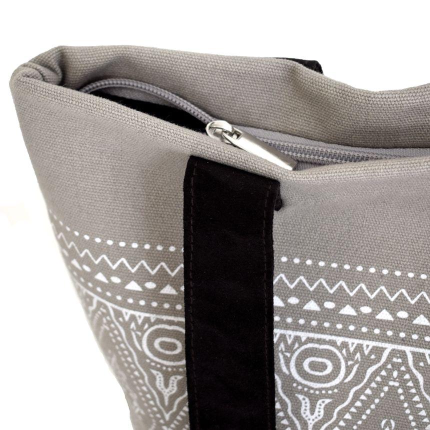 Alessandro Magnani Alessandro Magnani, IKAT Shopper, grey/white