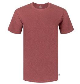 Bleed Bleed, Basic T-Shirt, dark red flamé, M