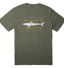 Vissla Vissla, Fathoms T-Shirt, dark olive, L