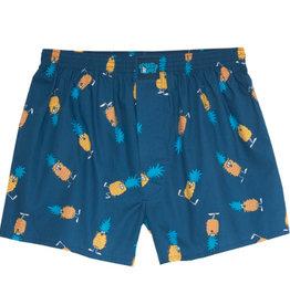 Lousy Livin Lousy Livin, Boxer Ananas, blue dive, XL