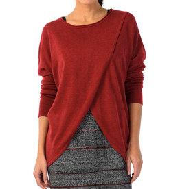 Skunkfunk Skunkfunk, Gazeta Sweater, dark red, M(3)