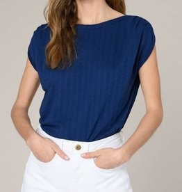 Sessun Sessun, SIXTOJACQ T-Shirt, mazarin blue, M