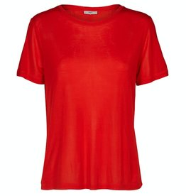 Minimum Minimum, Heidl T-Shirt, fiery red, L