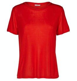 Minimum Minimum, Heidl T-Shirt, fiery red, S