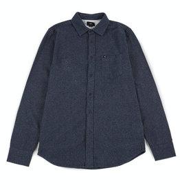 Obey Obey, Harrington Woven Shirt, navy, L