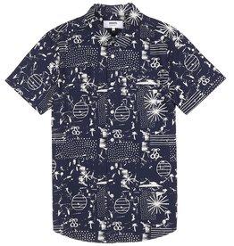 Wemoto Wemoto, Lupe Hemd, navy, S