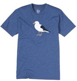 Cleptomanicx Cleptomanicx, Tee Gull 3, blue, L