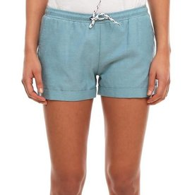 Iriedaily Iriedaily, Chambray Girl Short, beryl green, XS