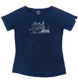ZRCL ZRCL, T-Shirt Snail, blue, M