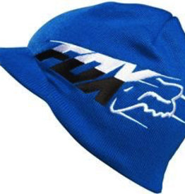 FOX Superfaster Visor Beanie blue