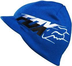 FOX Superfaster Visor Beanie blue