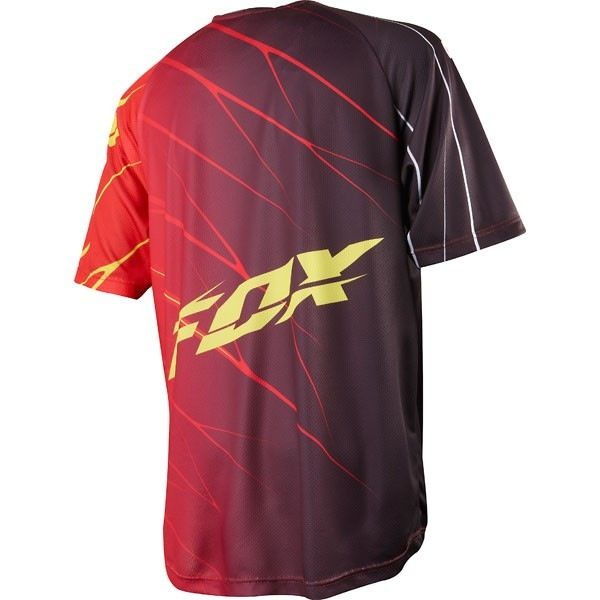 FOX 360 S/S Jersey red large