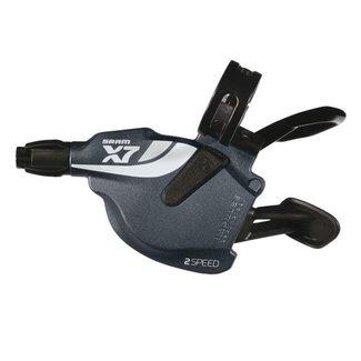 SRAM Trigger X.7, 2-fach, vorne, grau, Zero Loss