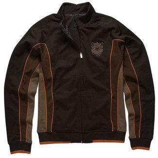Fox Angled Track Jacket brown medium