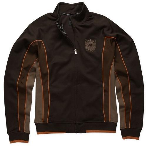 Fox Wear Fox Angled Track Jacket brown medium