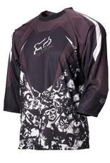 FOX Blitz 1/2 sleeve Jersey black/grey large