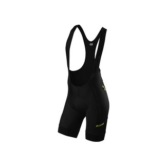 Specialized SPECIALIZED MOUNTAIN LINER BIB SHORT BLK/HYP GRN M