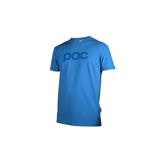 POC TRAIL TEE tungsten blue Large